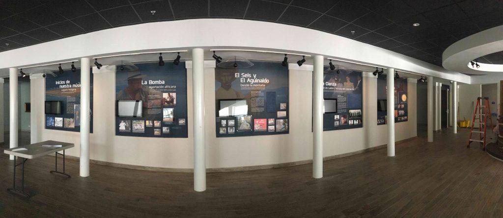 """Área de 'Nuestras Raíces"""" museo de la musica rafael ithier guaynabo Puerto Rico"""